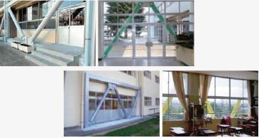 建物や利用者に配慮した耐震補強設計
